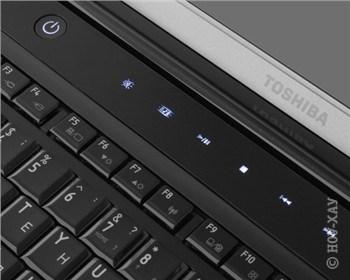 Мультимедиа-кнопки у этого ноутбука сенсорные и светящиеся. Если вы не используете их, они гаснут, чтобы не мозолить глаза